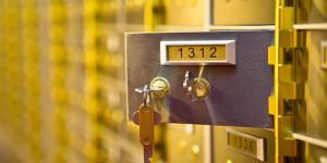 safety deposit boxes Preston